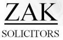 Zak Solicitors